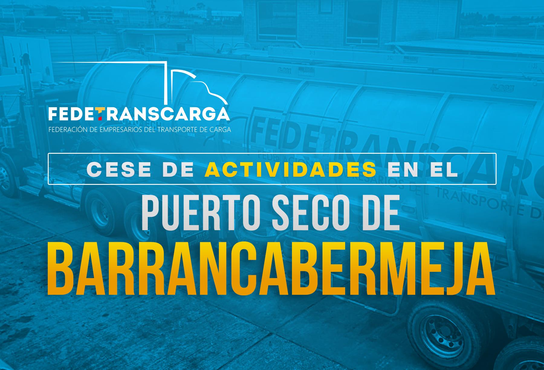 Cese de actividades en el Puerto Seco de Barrancabermeja  impacta al transporte de hidrocarburos
