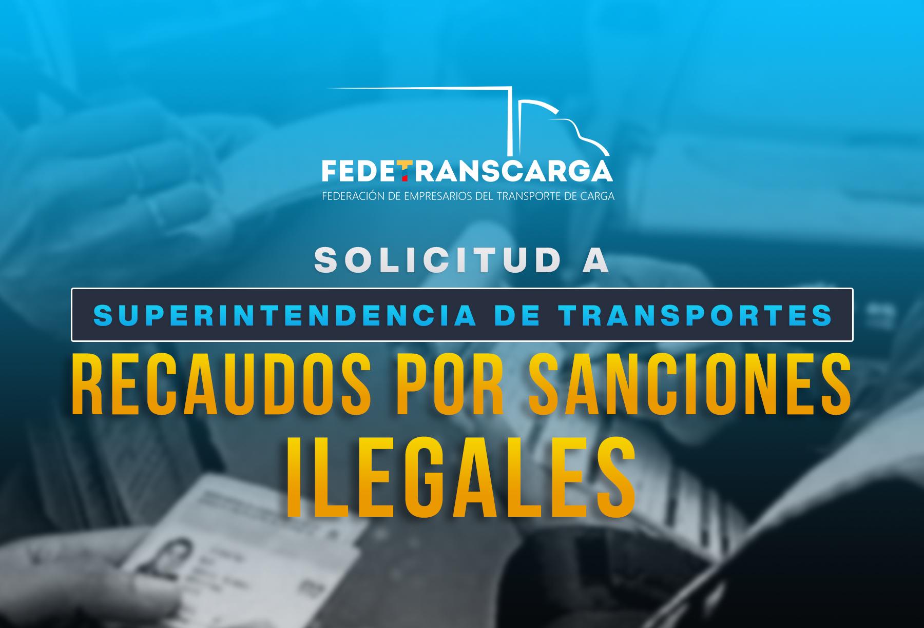 Devolución  de  dineros recaudados por sanciones ilegales