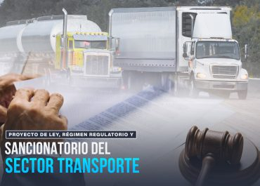 Proyecto de ley, Régimen Regulatorio y sancionatorio del sector transporte