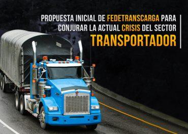 Propuesta para mejorar las condiciones del sector transportador
