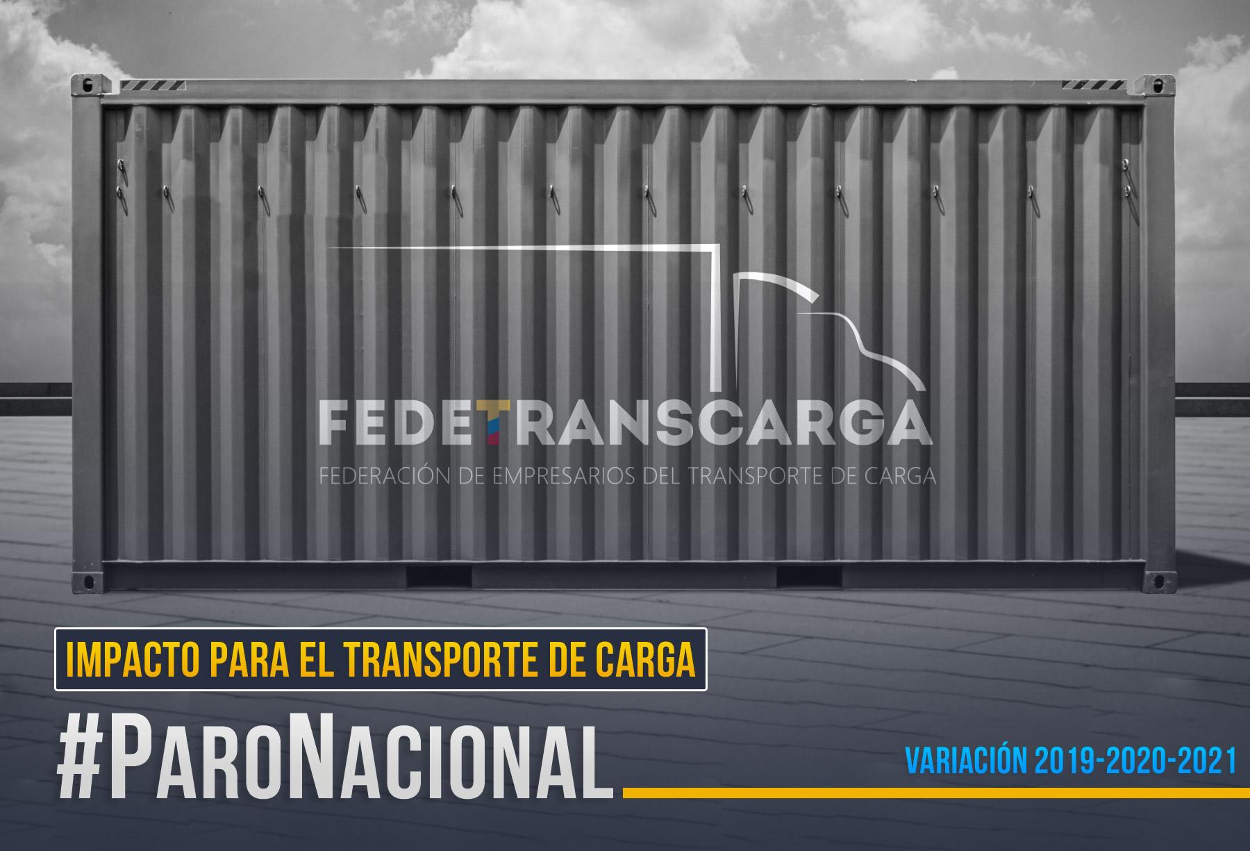 Impacto en cifras del paro nacional para el transporte de carga