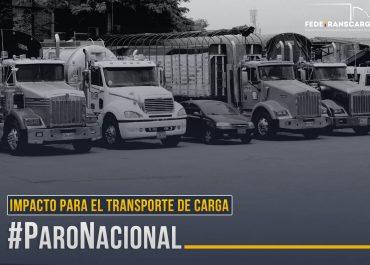 En cifras: impacto del paro nacional en el transporte de carga
