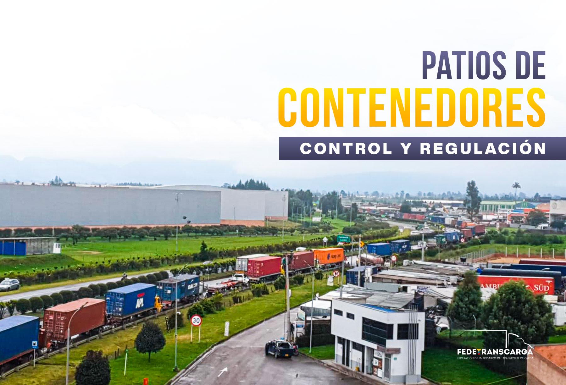 Patios de contenedores: control y regulación