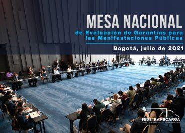 Mesa Nacional de Evaluación de Garantías para las Manifestaciones Públicas 2021